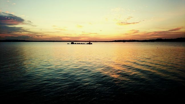 Sunset Beauty In Nature Sky Calm Serenity EyeEm Nature Lover