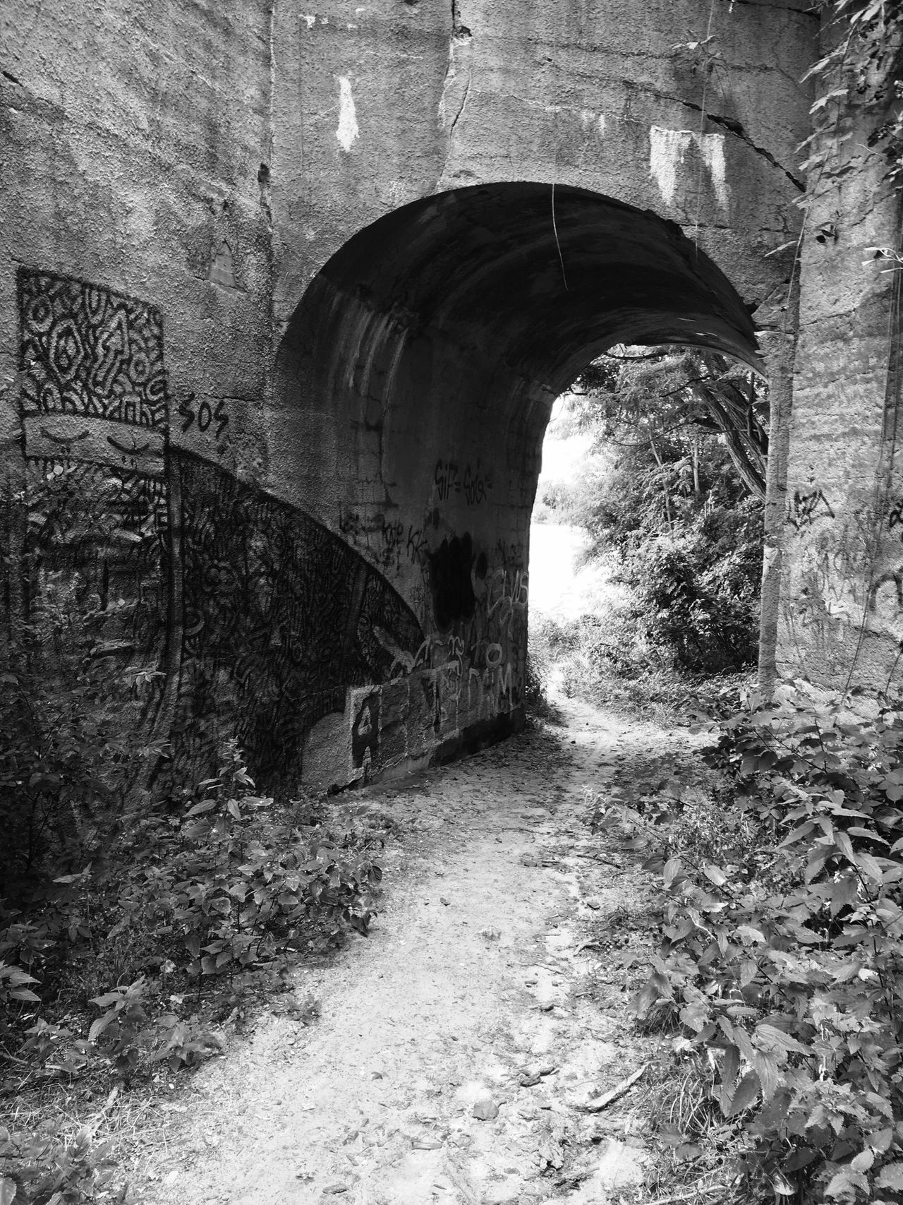 """""""Summer Berlin"""" Bridge Graffiti Art Canal Blackandwhite Photography Summer"""