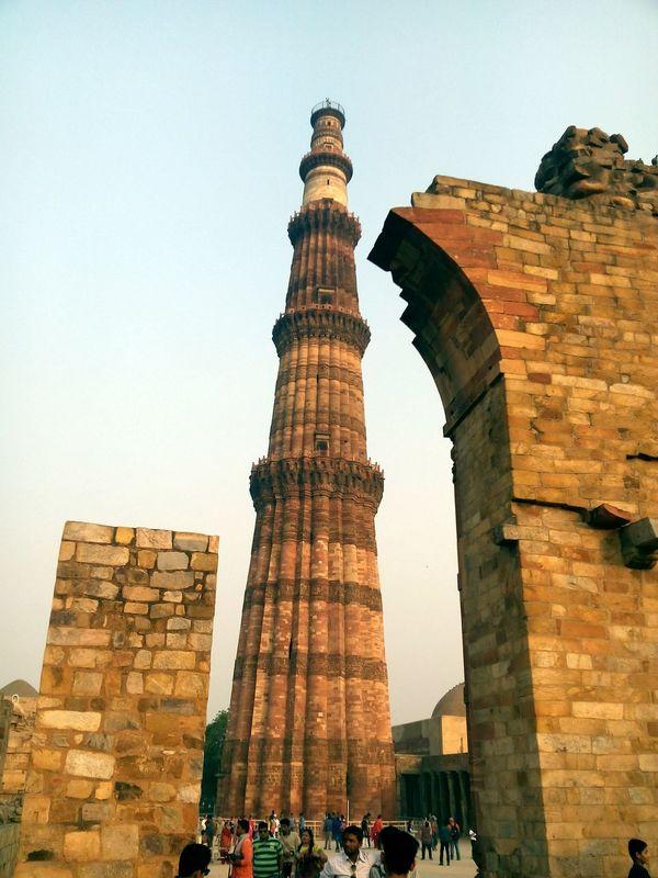 Qutab Minar Delhi India History Mobilephotography Journey The Architect - 2016 EyeEm Awards