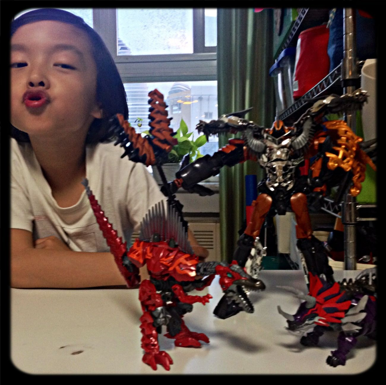 JQ + Dinobot