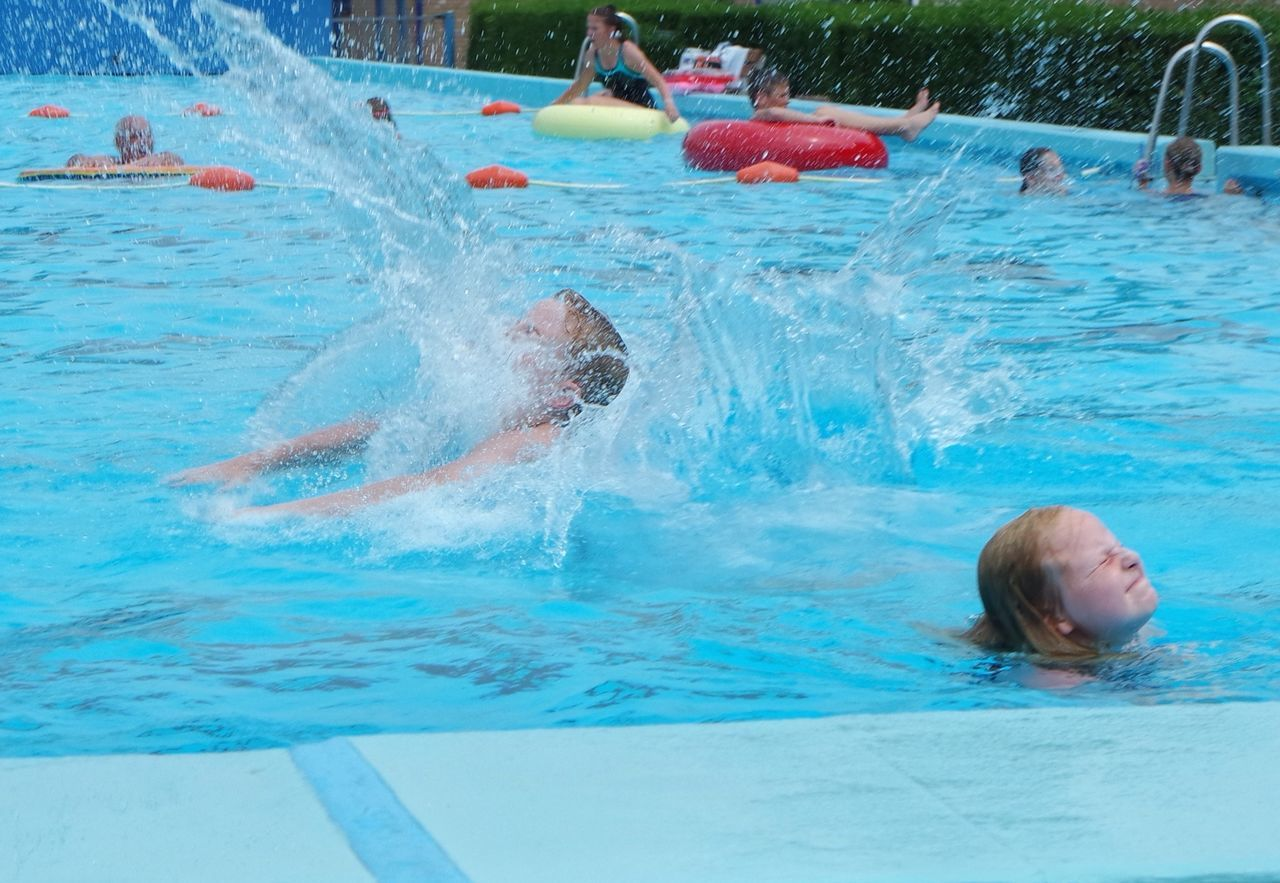 Jumpshot Jump Water Swimming Pool Swimming Time Diving Splashing Splash Splashing Water Clear Water Weekend Activities Happy Children Summer Holidays Kids Swimming Playing Outside Outdoor Activity Vocation