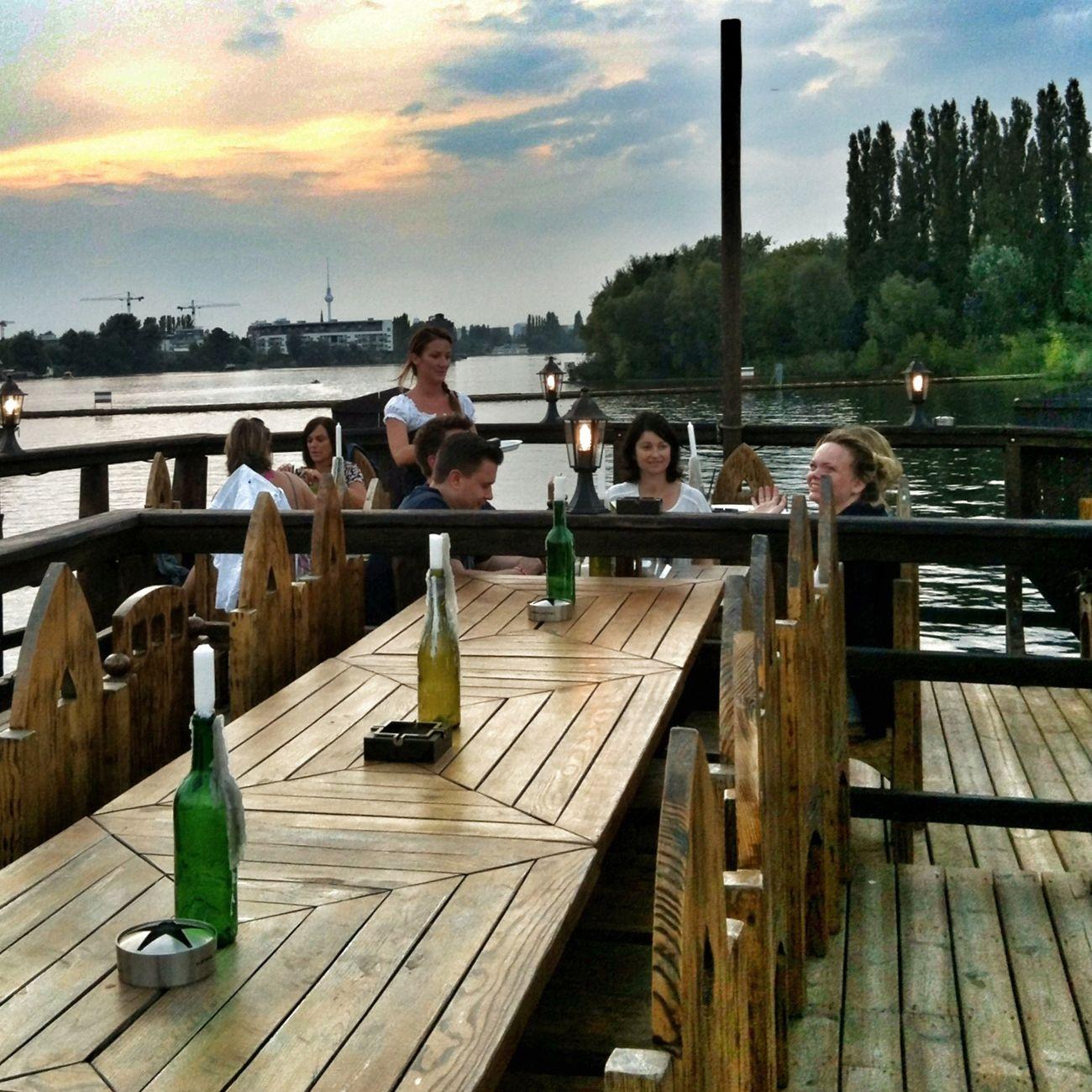 My Fucking Berlin Restaurant Ship Gode Wind (Hauptstadtkogge) Rummelsburger Bucht