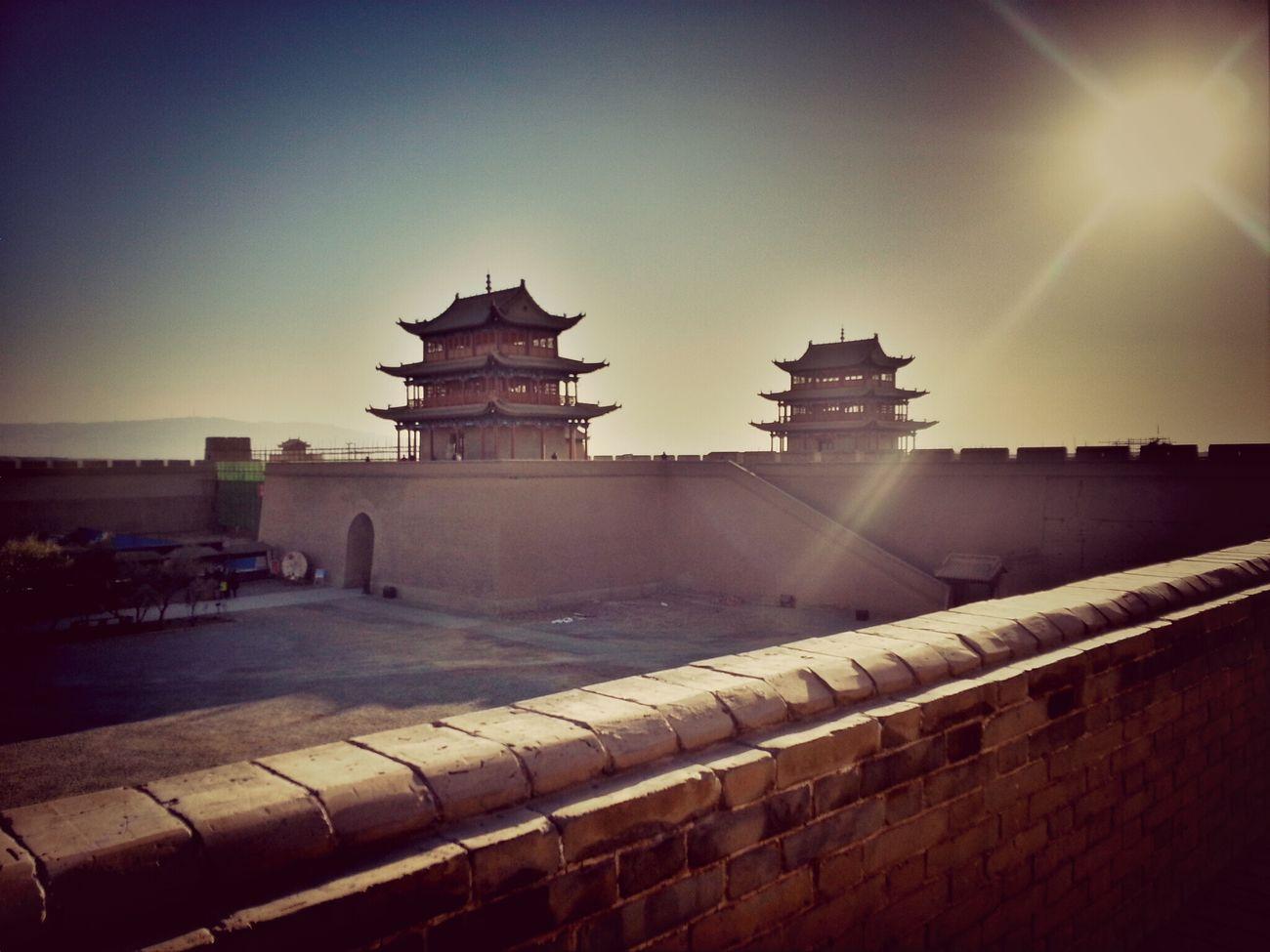 嘉峪關 Ancient City Taking Photos Silk Road