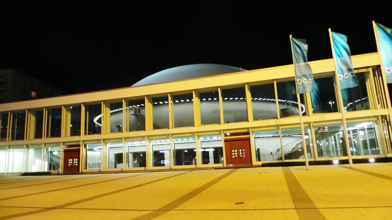 Kongresszentrum Nightphotography Berlin Bei Nacht Berlin At Night