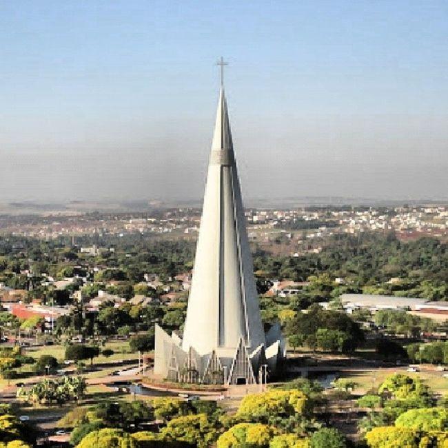 Catedraldemaringa Brazil Church Paraná landscapepaisagemcathedral