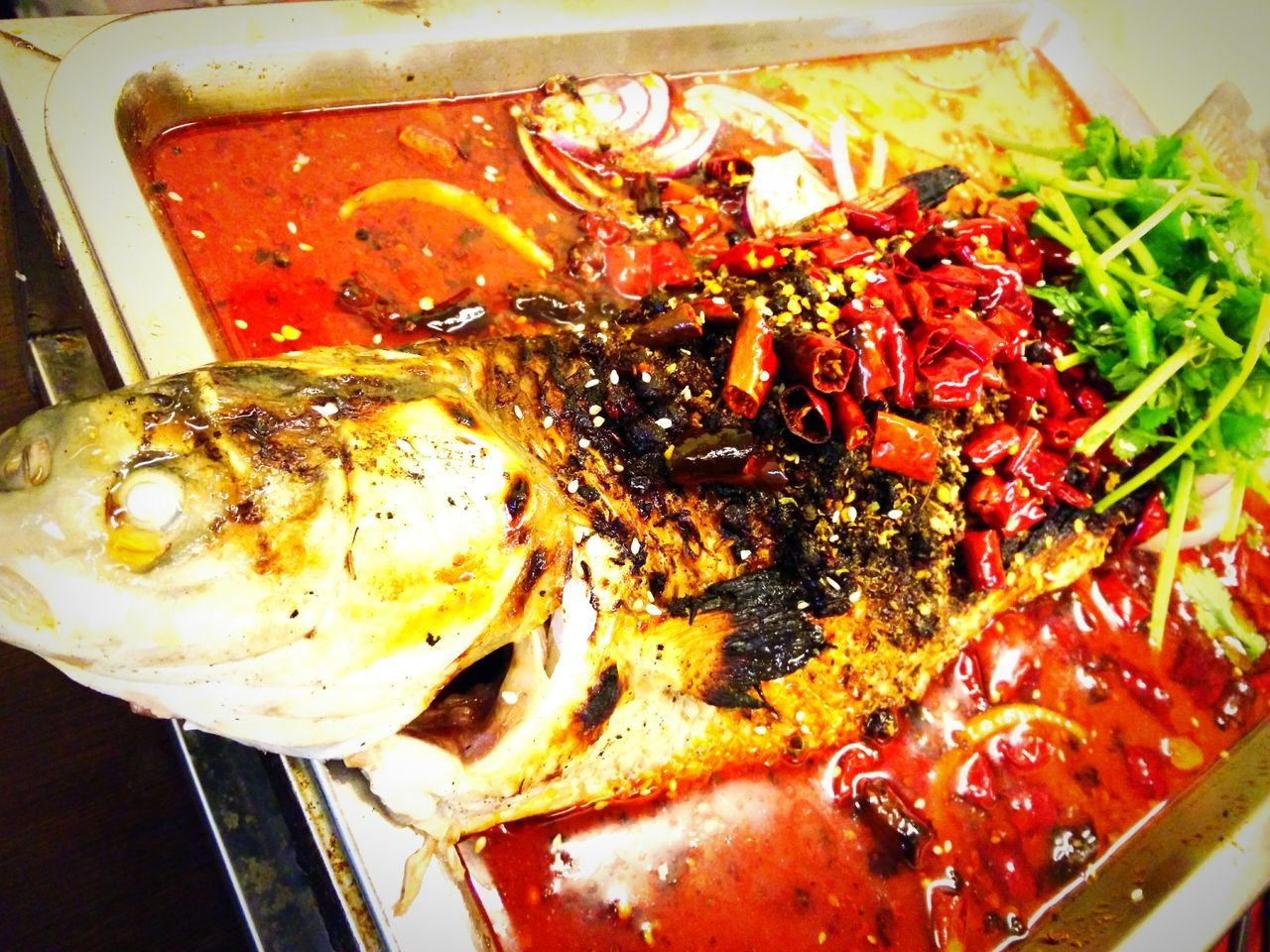 Hot 'n Spicy Fish Bestwinterever Colour Of Life Food Stories
