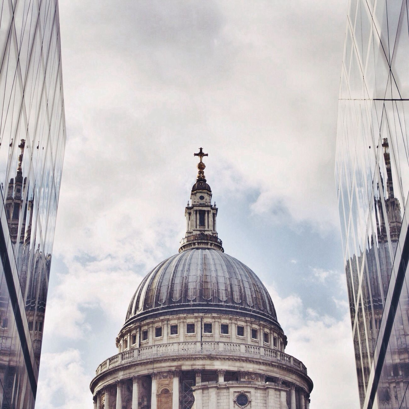 St. Paul's Cathedral from One New Change... London Architecture Vscocam VSCO