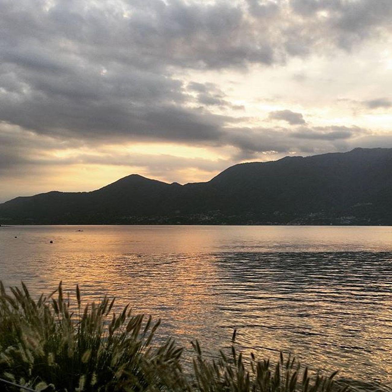 ..sunset on Lago Maggiore... Luino Lago Maggiore Italy