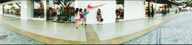 Panoramic Eye4photography  From Where I Stand Nike #JustDoIt