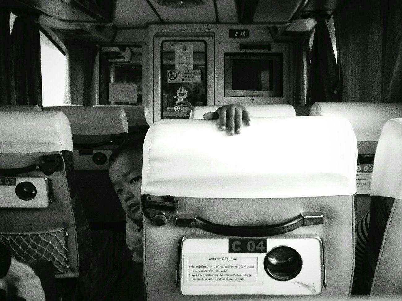 Companion PhonePhotography Oppofind7 Streetphotography Blackandwhite On Tour Boy Tourbus