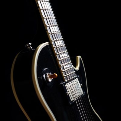 Gibson Les Paul Gibson Black Beauty Guitar