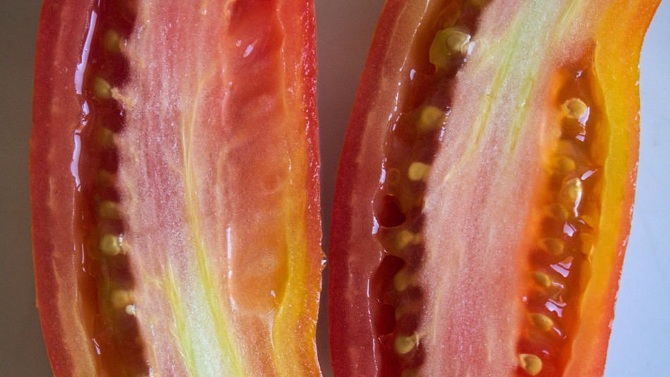 Twins. Close-up Cross Section Day Dramatic Angle Food Foodie Freshness Healthy Eating Healthy Lifestyle Lifestyles Light Natural Food No People Organic Food Red Red Red Color Summer Food Tomatoes Tomatoes Up Close Twins Upside Down Vegetable