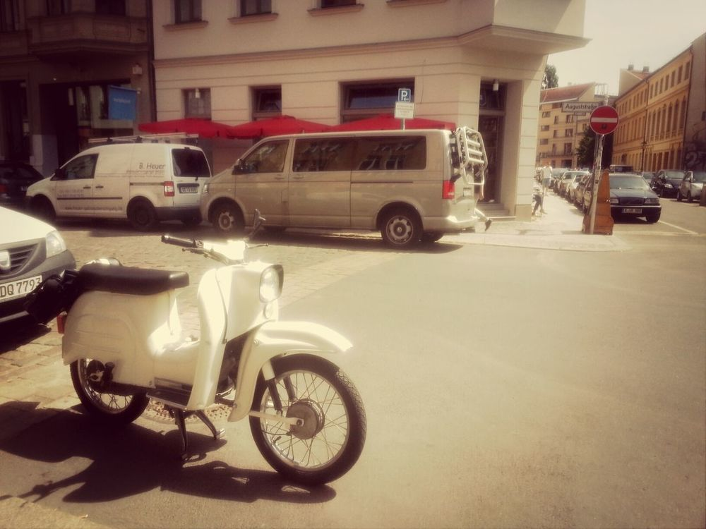 back on the road :) Motorcycles Berlin Simson Schwalbe Simson