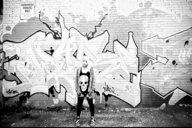 Girl Urban Graffiti Art Design Toronto