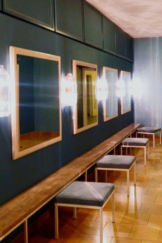 Indoors  Illuminated No People Bright Electric Light Staatsoper Munich, Germany Toilettenraum Ladys Only Interior Interior Design Mid Century
