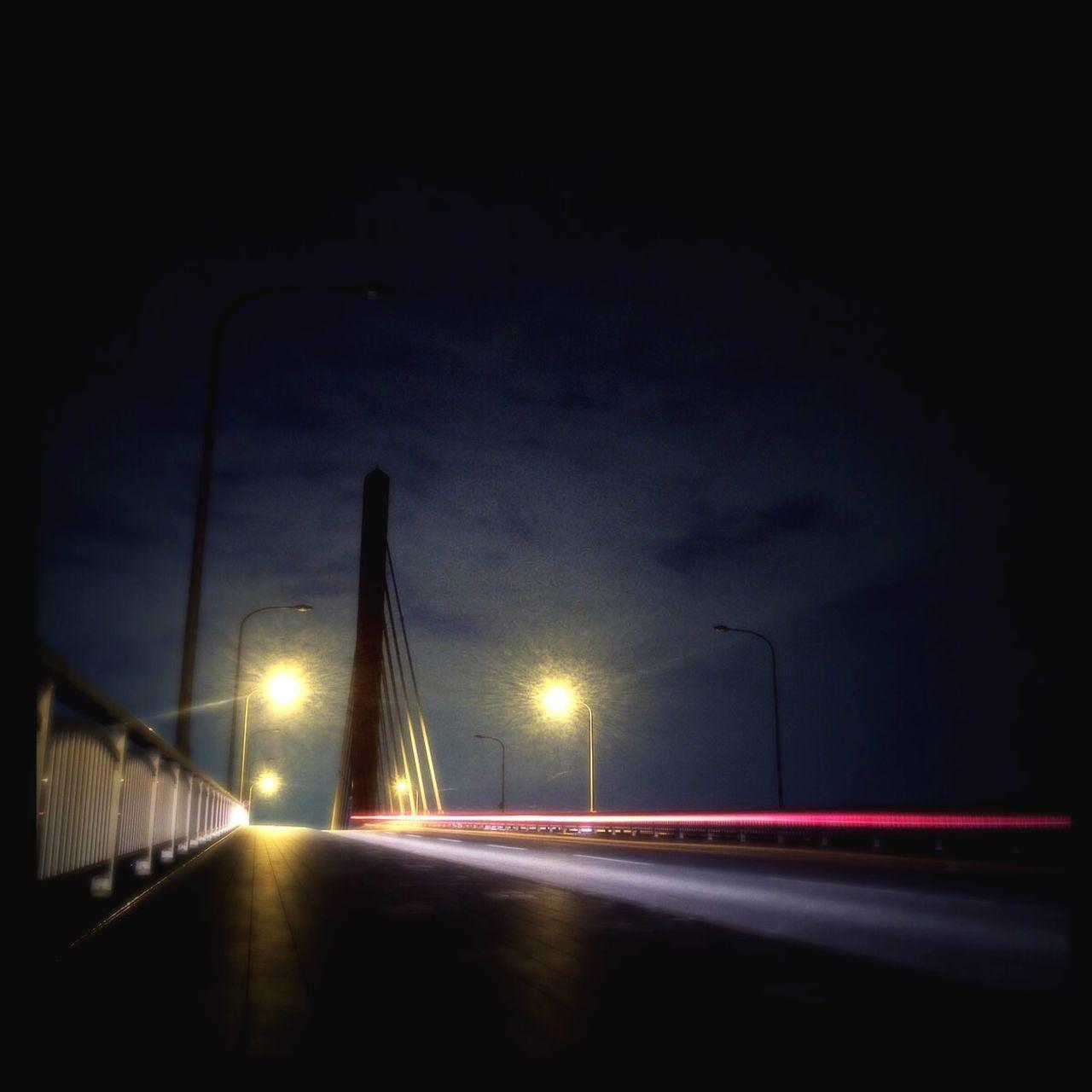 Long Exposure Street Nightscapes Okinawa 海中道路 沖縄 うるま市