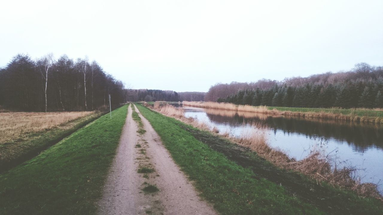 River Canal Water Way Walk Running Nature Wood Trees Outside