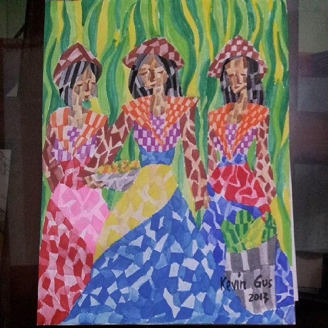 Yahoo! I am done.... Stress released. :) how do u find my artwork? Cubism Itsmorefuninthephilippines Pinoystyle Pinoyartist filipinoartist kevoartist watercolor watercoloronpaper