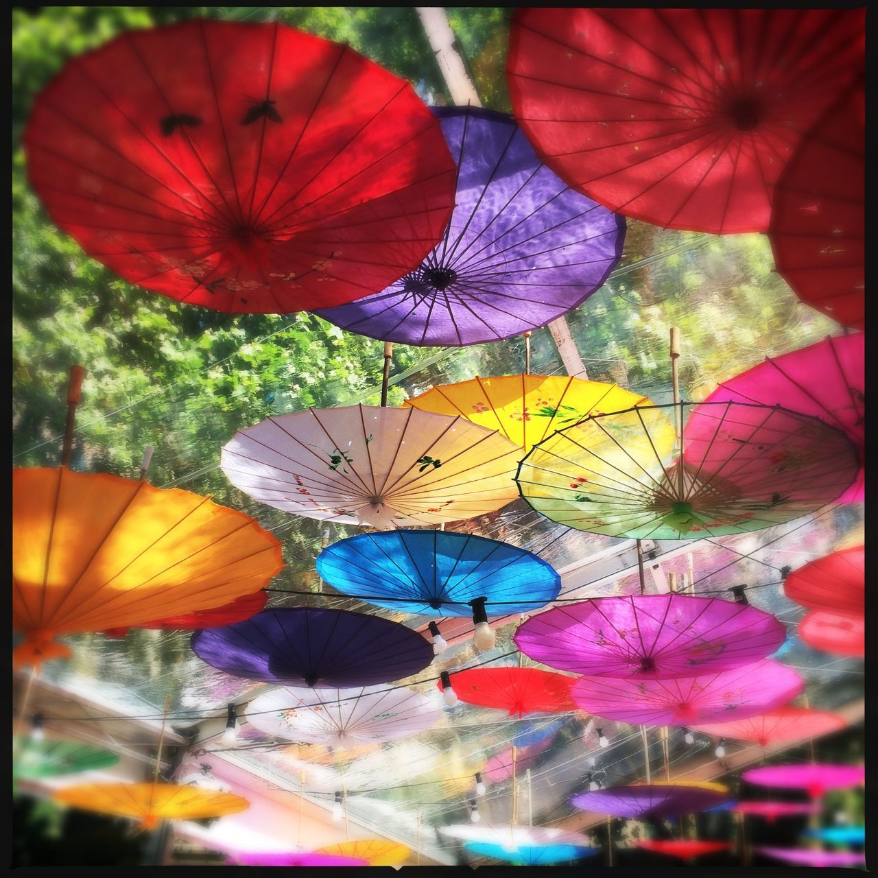 multi colored, colorful, low angle view, variation, retail, choice, outdoors, market, no people, close-up, day