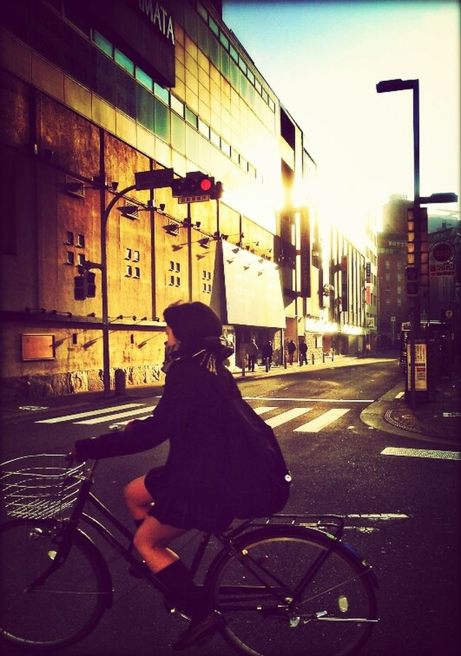 Streetphotography Good Morning! Bycicle
