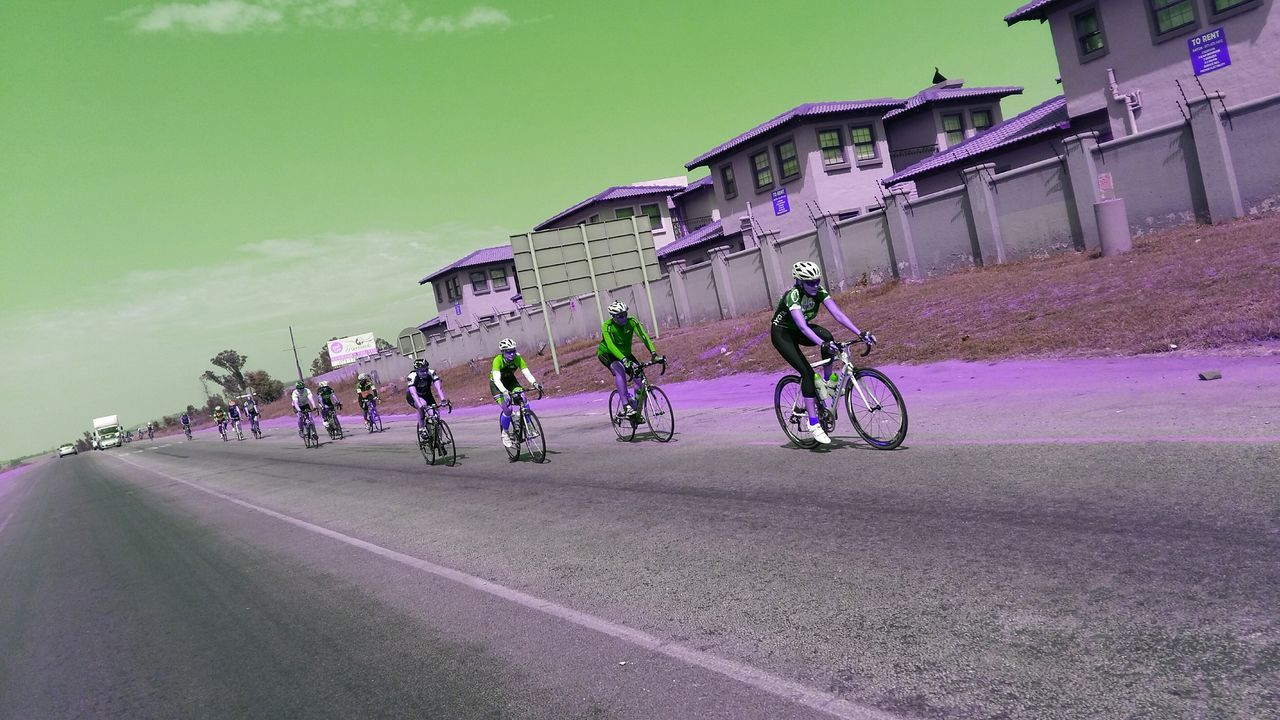 Pastel Power Street Photography Cyclists Cycle Racing Cycle Race Roadscenes Q= Questor Celebrate Your Ride
