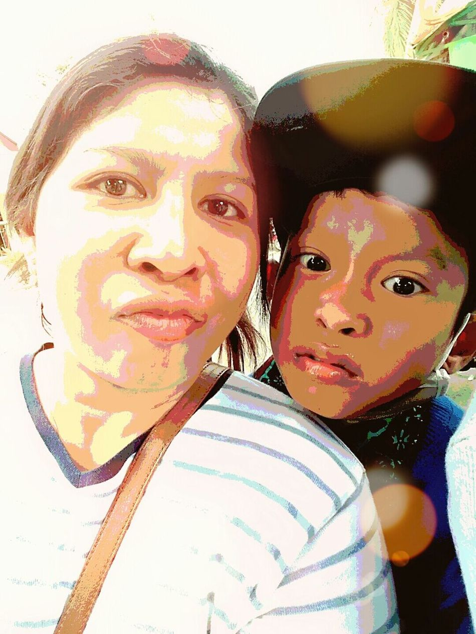 RePicture Motherhood he's my son but the more i think he's my young brother... Loveyousomuch❤❤❤