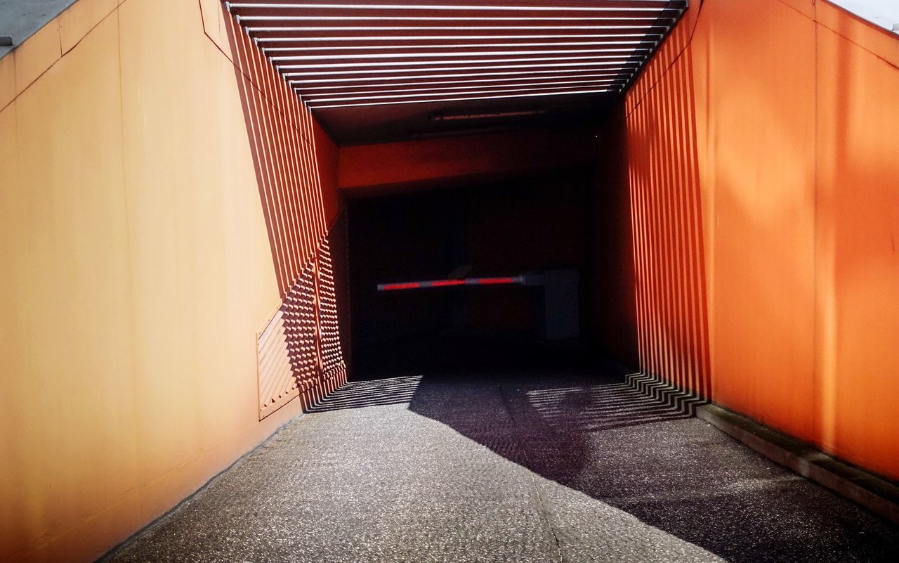 No Entry... The Way Forward No People Empty Corridor Architecture Built Structure Day Architecturelovers The Architect - 2017 EyeEm Awards Architectural Detail Simplicity The Great Outdoors - 2017 EyeEm Awards Light And Shadow Geometric Shape