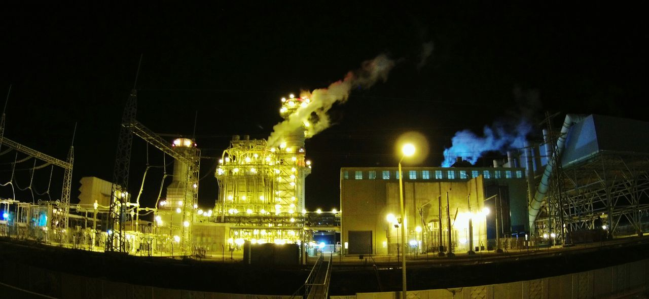 Powerplant Power Plant At Night-extreme Style