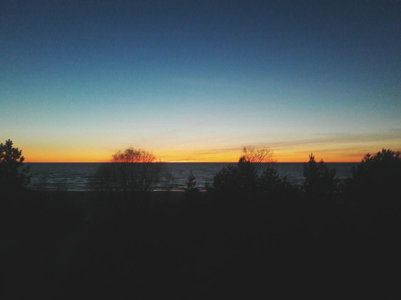 Goodnight guys, sleep well 😘 Sunset Nature Sea Sky Photography Beauty In Nature Beach No People Water
