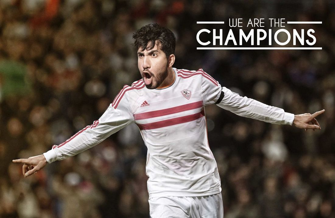 Egyptian Hello World We Are The Champions Happiness That's Me Egypt Zamalek Smile Hi!