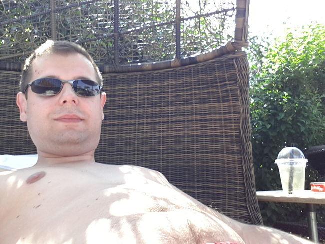 Summer Waschbärbauch Relaxing That's Me