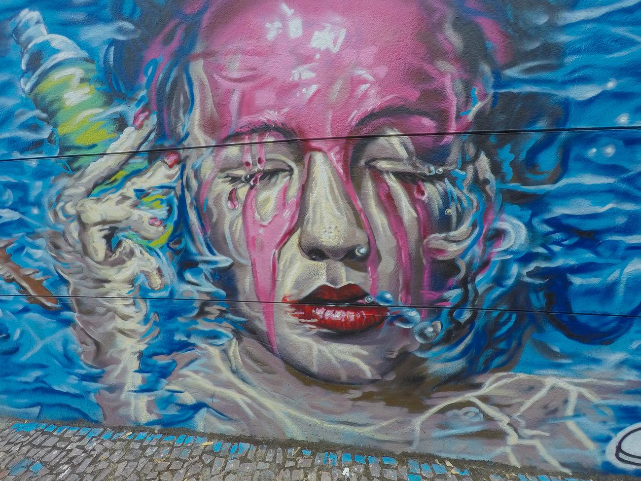 Grafite Arte De Rua ArtWork Cores Grafite Na Par Grafitti Wall Mur Muro  Pare Pinturasmurales Relaxing Sem Tempo