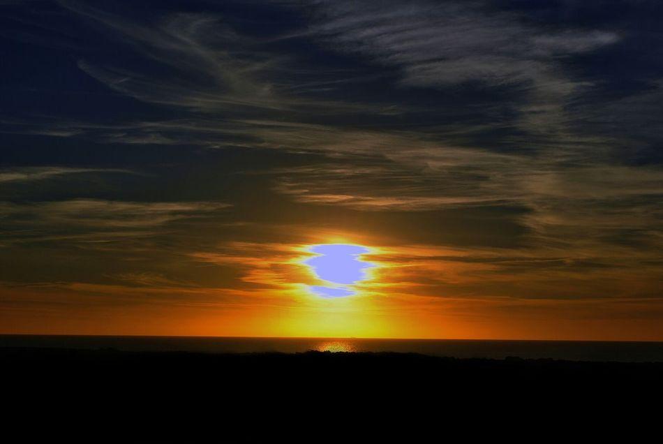 Calasetta sunset amazing place