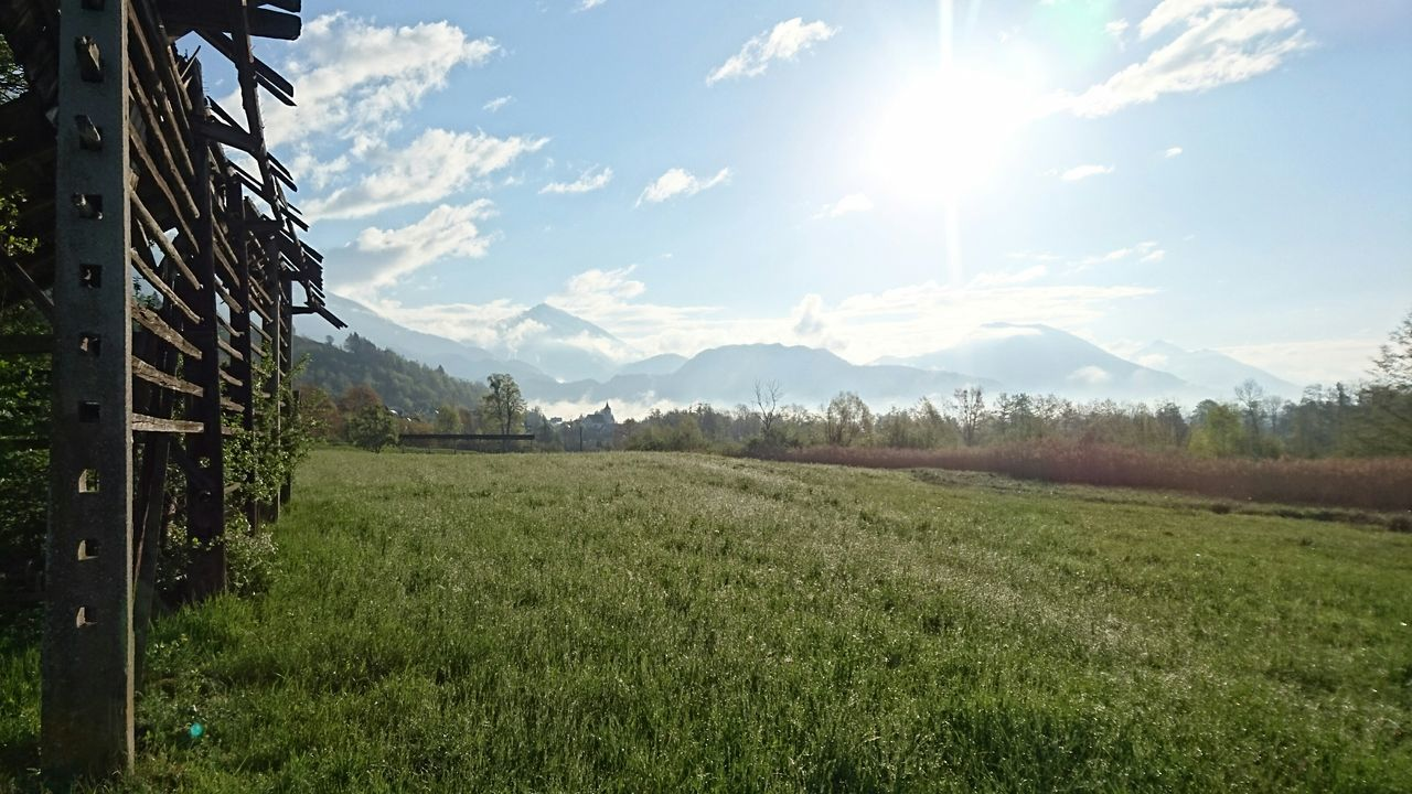Julian Alps Springtime Spring In The Mountains Alps Tranquility Against The Sun Green Natural Beauty Morning Morning Light Morning Beauty mountains Xperiaphotography