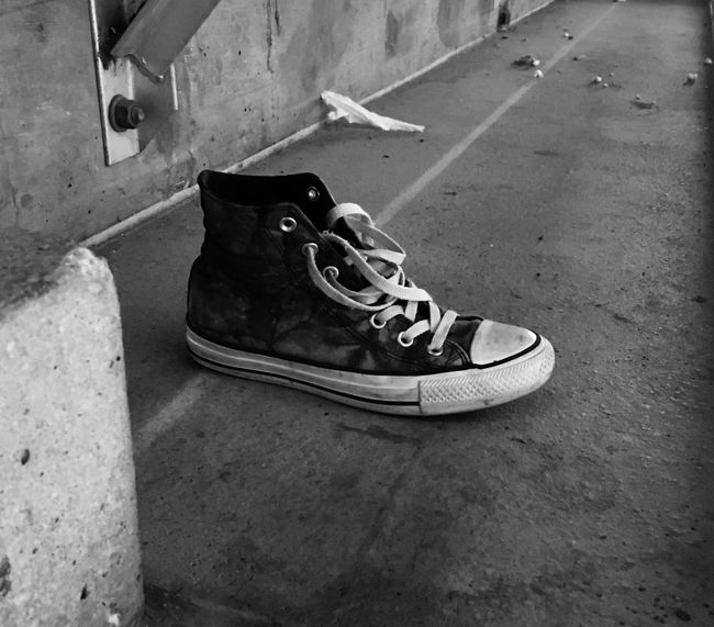 The Missing Shoe Black And White Blackandwhite