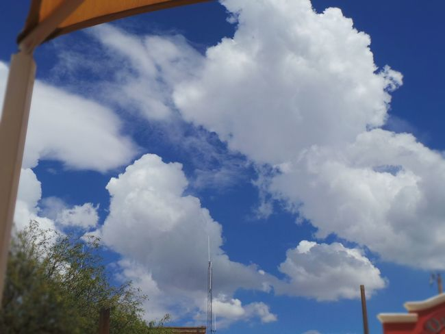 Large Fluffy Clouds Perfect Sky Cotton Ball Clouds Arizona Sky Overcast Day Summer Sky  Travel No Rain In Sight