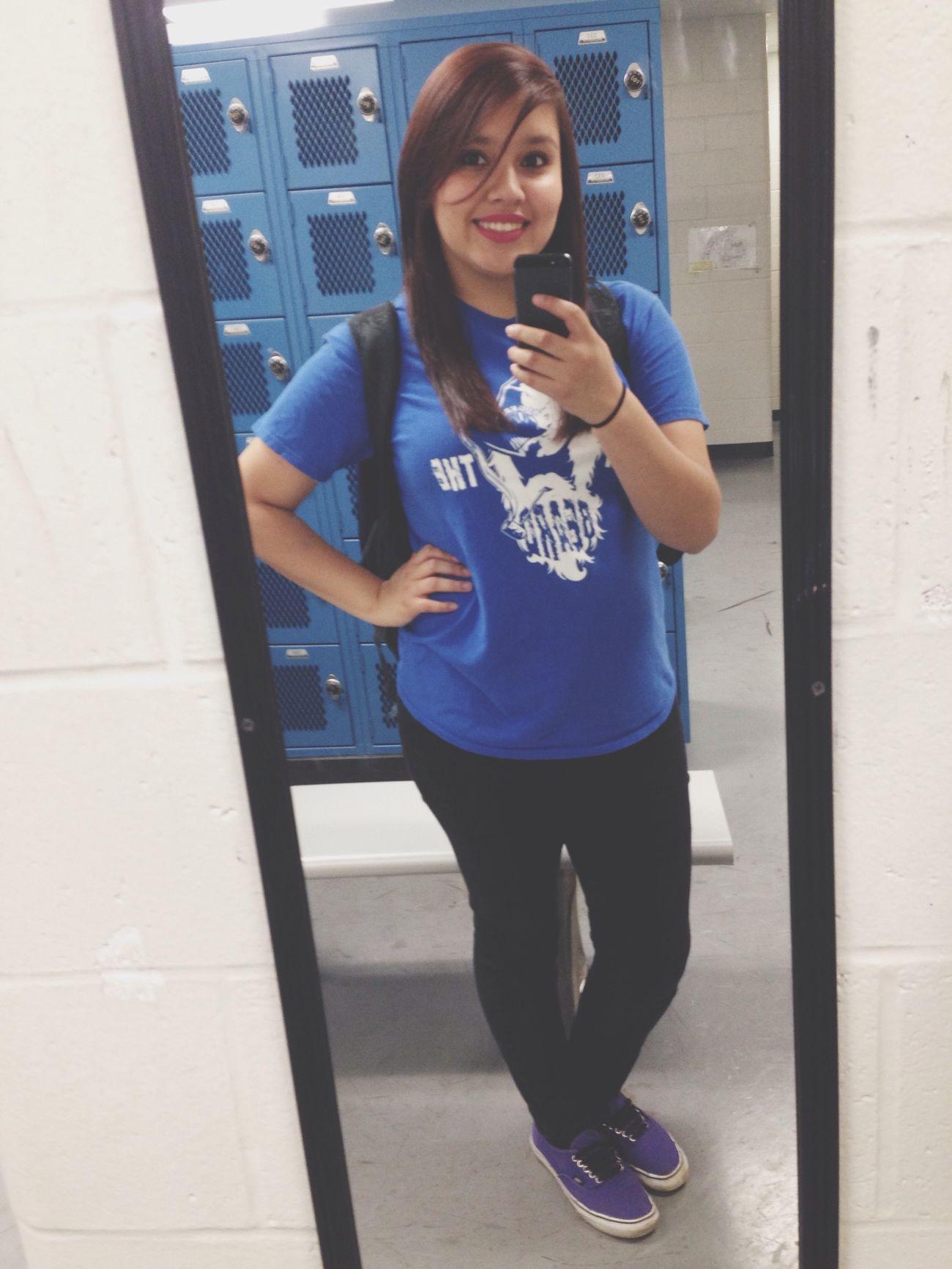Selfie after gym!
