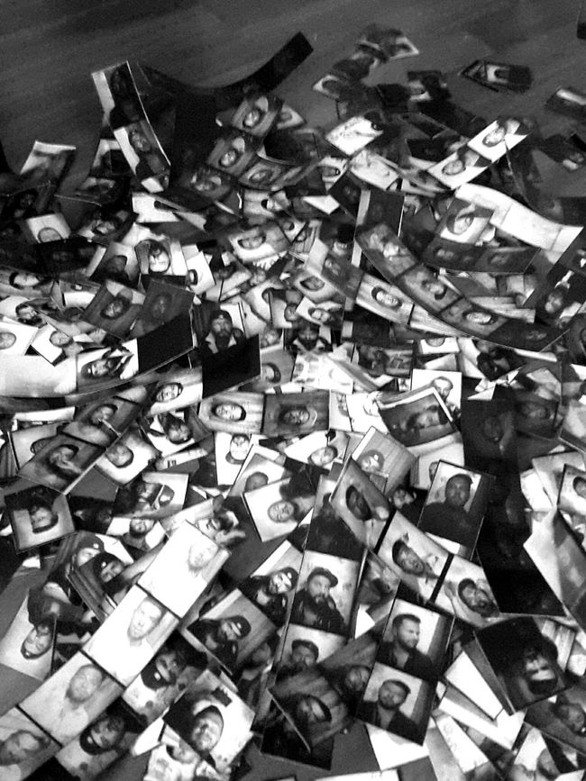 Selfies Everywhere ILove Photobooth Photobooth Sessions 2years In Stripes Blackandwhite Photography Analogue Photography Analog Camera Chemistry Class Developed Bnw ArtWork