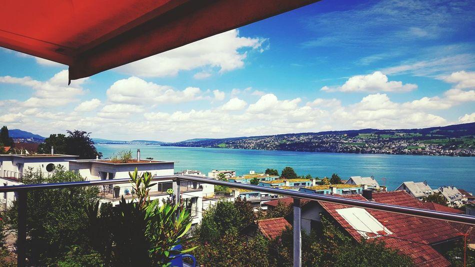 Stunning Lake Zurich♡♡ Horgen Lakezurich Zürichsee Switzerland View Mypointofview Sueannnn Summer Holiday Chillout Good Times Happy