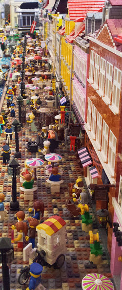 A street of LEGO* A place that you can walk through when you are alone at home. The Street Photographer - 2017 EyeEm Awards Check This Out Hello World EyeEmNewHere EyeEm Famous Landmarks City Life City Street LEGO Legophotography Lego Art Funny