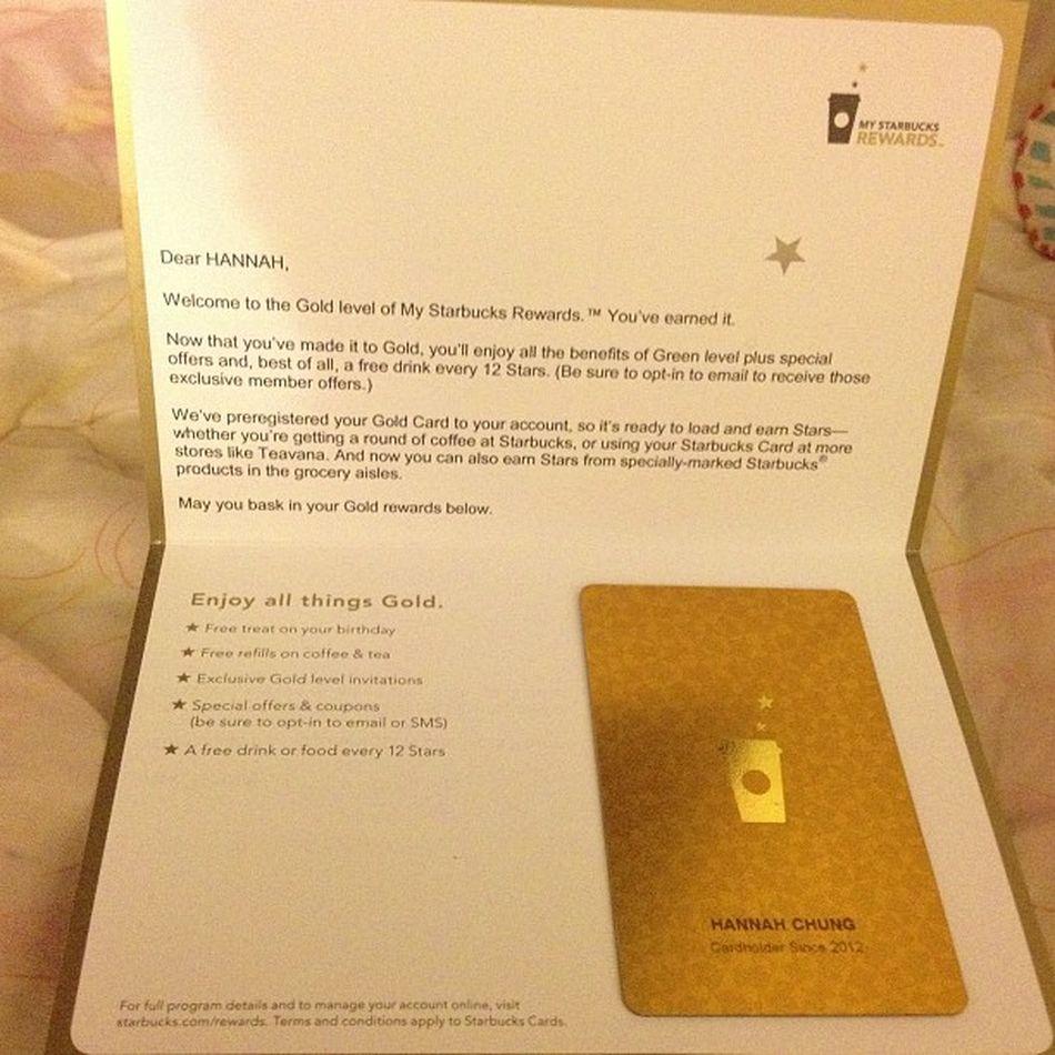 Hehe totally unexpected!!! Mystarbucksreward Goldlevel