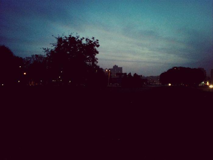 Morning Kyiv City Autumn