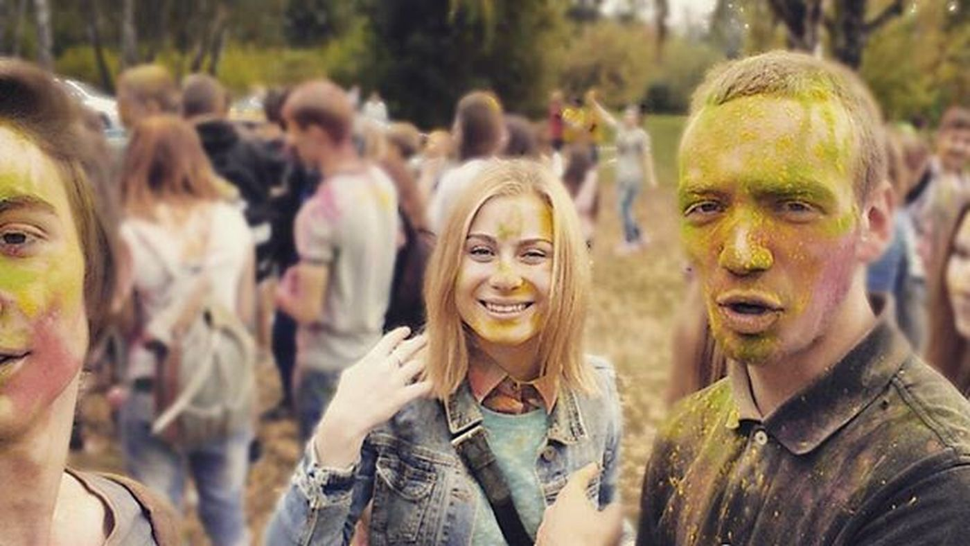 Sleeping With Sirens - Better Off Dead беларусь Витебск фестивалькрасок холи холи2015 холифест Colorfest