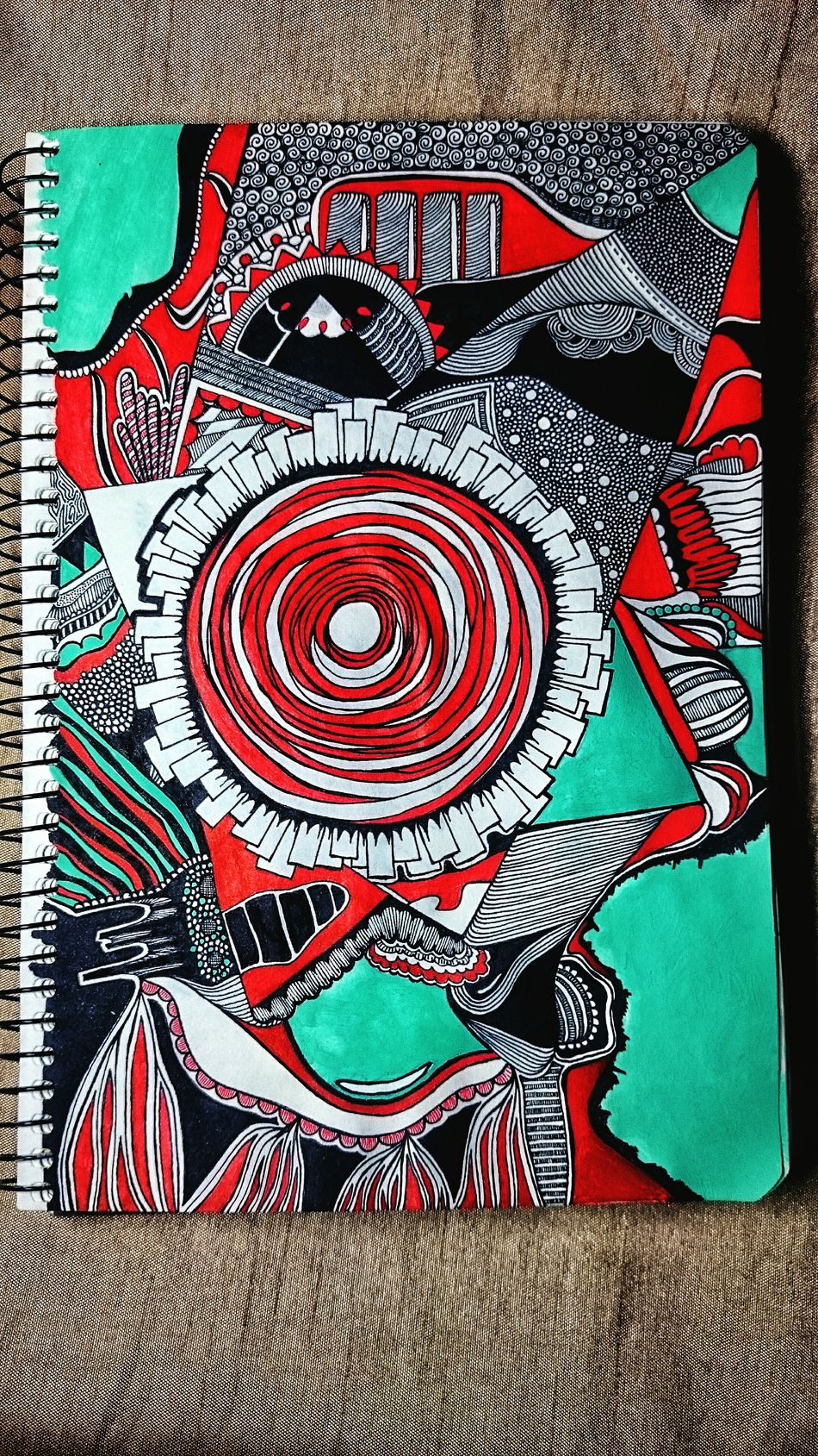 Red Drawing - Art Product Abstract Pencil Drawing EyeEm Free Art Beauty Inspirations ArtWork Illustration Tranquility Paper Sketchbook Sketching Sketch Creativity Ukraine Followme First Eyeem Photo Art, Drawing, Creativity EyeEm Best Shots Green Color Sketch Art Forest
