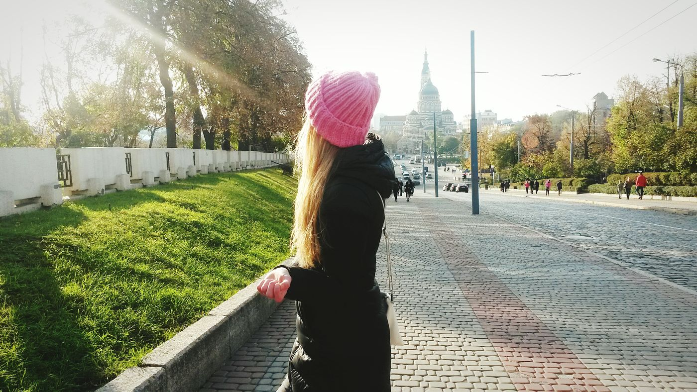 Rear View Grass Girls Long Hair Day Park Sky Outdoors Amazing Beauty In Nature Nature Ukraine Hello World Our Atmosphere Ukrainiangirl View Relaxing Enjoying Life Nice Day Kharkivgram Kharkivlive Kharkiv City Life Front View Lifestyles