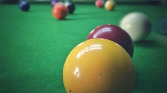 Sport Pool Table Colorful Enjoying Life Taking Photos