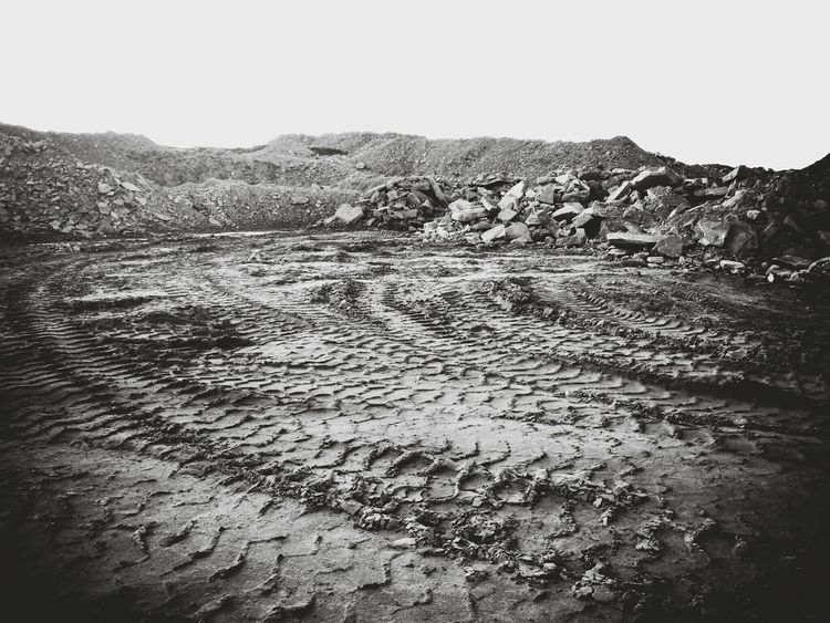 Outdoors Nature No People Day Mountain Sky Scenics Landscapes With WhiteWall The Great Outdoors - 2017 EyeEm Awards Life On Mars Mud Countryside Tyre Tracks Mars Quarry Textures And Surfaces BYOPaper! Beauty In Nature Tranquil Scene Landscape Nature Rock Yorkshire Calderdale Desert