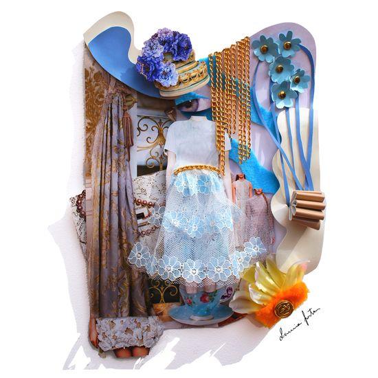 Neobaroque Lavigirl❤️ New Moodboard Free Fashion Doll Material Mix ArtWork 3D Textures