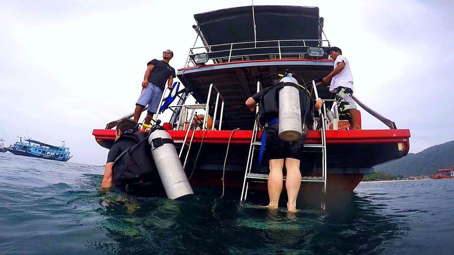 Thailand Pearldiving Kohtao Smile Boat Dive Diving Realdiving SCUBA Ssi Ocean Monsoon Adventure Divemaster