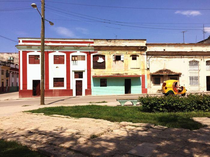 Architecture Built Structure House Day Cuba Havana Land Vehicle Park